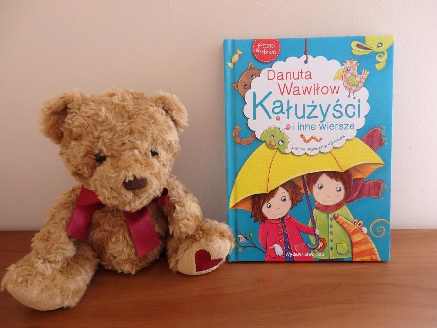 Kałużyści i inne wiersze, Danuta Wawiłow, Agnieszka Kamiśka, Wydawnictwo IBIS