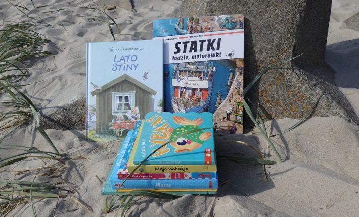Książki o morzu i wakacjach nad wodą