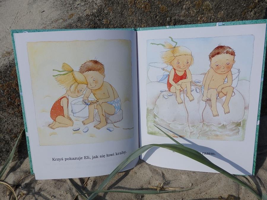 Ela na plaży, Catarina Kruusval, Zakamarki
