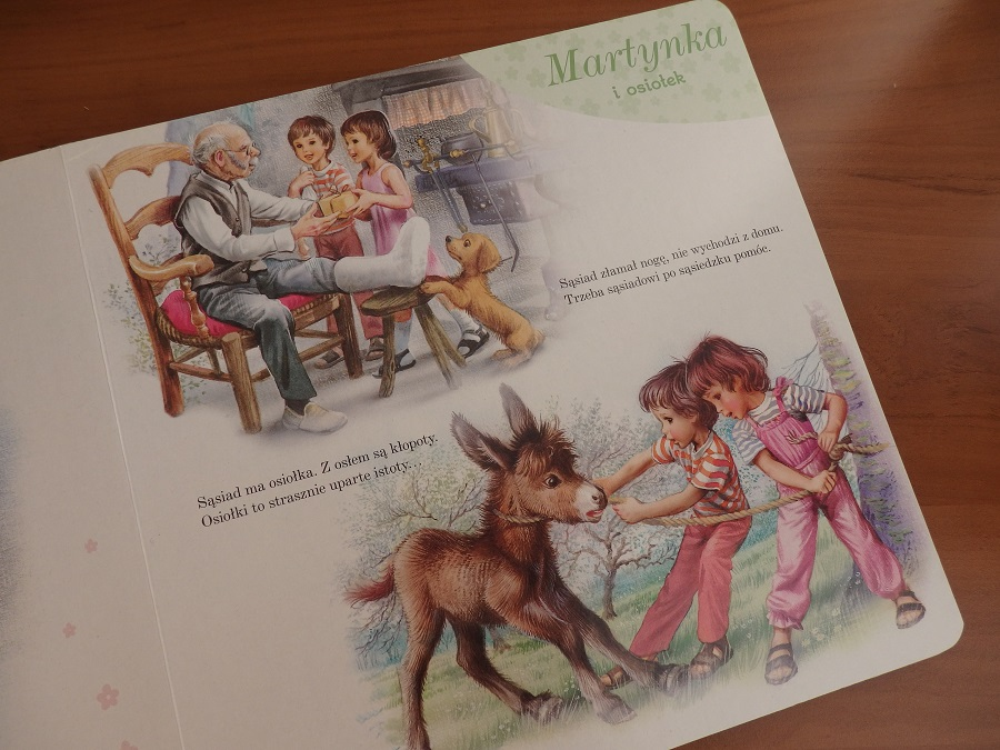 Martynka moje pierwsze historyjki, Wanda Chotomska, Papilon