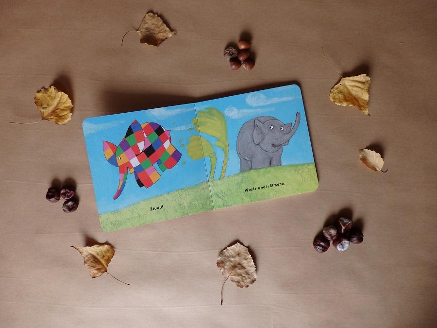Elmer i pogoda, David McKee, Papilon