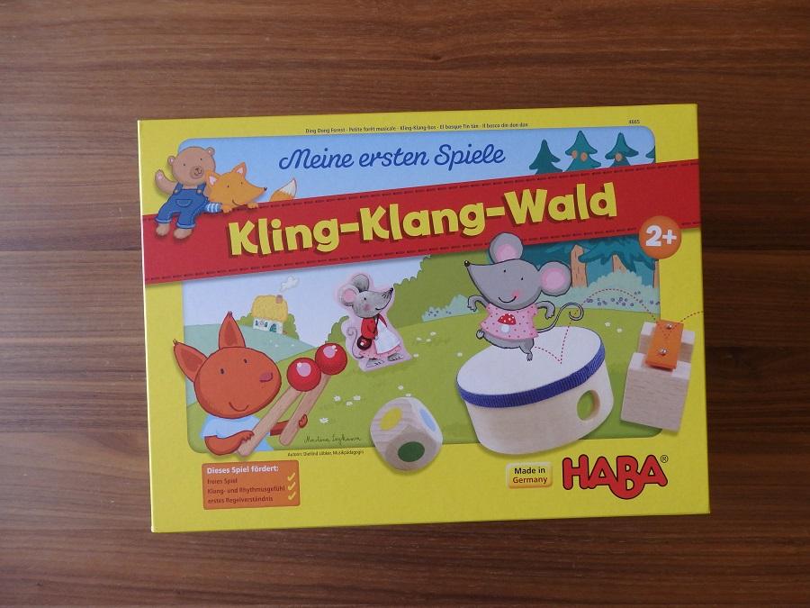Haba, Moje pierwsze gry. Dźwięczny las, Grający las, Kling-klang Wald, Ding-Dong Forest