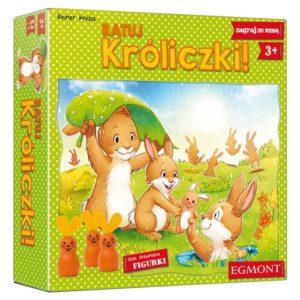 Ratuj króliczki, Egmont