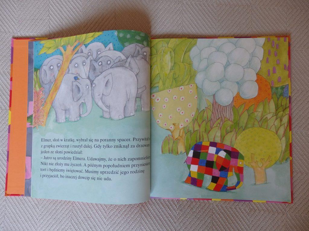 Urodziny Elmera, David McKee, Wydawnictwo Papilon