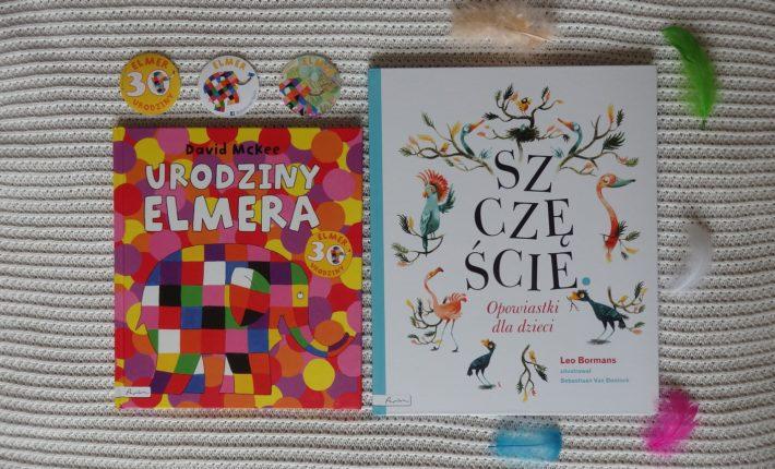 Urodziny Elmera, Szczęście, Wydawnictwo Papilon