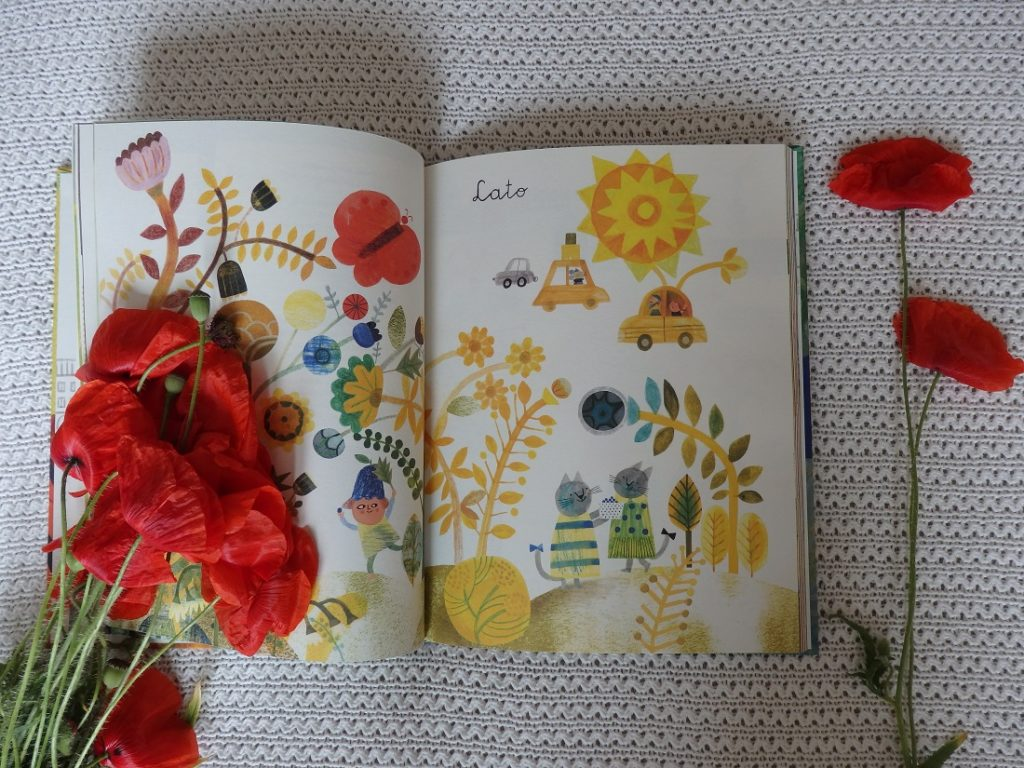 Wiosna, lato, jesień, zima w moich rymach, Wanda Chotomska, Ewa Poklewska-Koziełło, Nasza Księgarnia