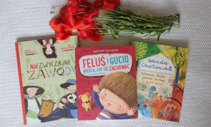Feluś i Gucio wiedzą jak się zachować, Niezwyczajne zawody, Chotomska: Wiosna, lato, jesień, zima w moich rymach