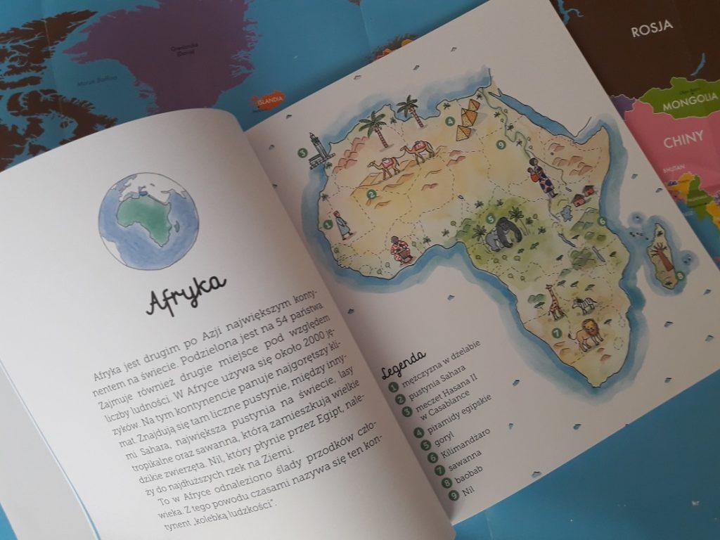 Biblioteczka Montessori Geografia