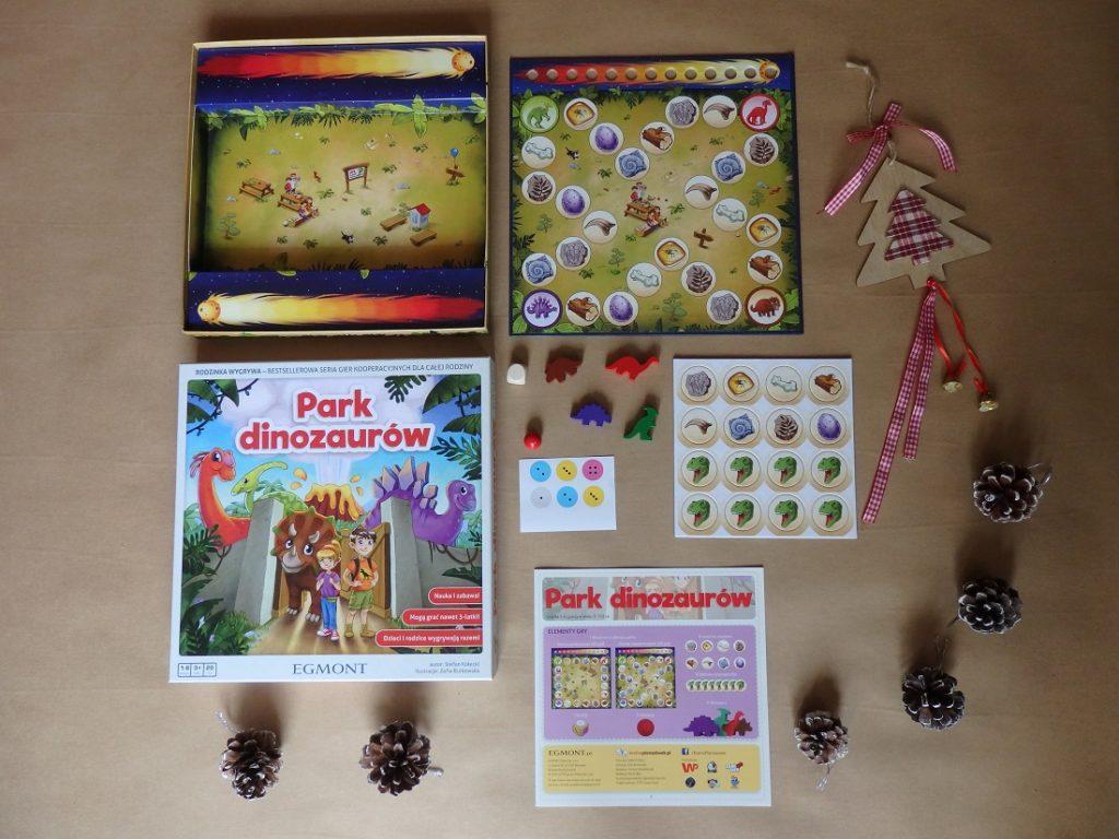 Park dinozaurów, Egmont, gra planszowa