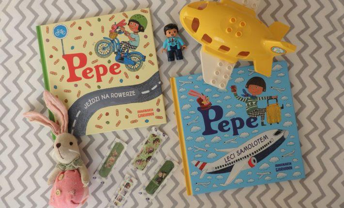 Pepe jeździ na rowerze, Pepe leci samolotem, Kapitan Nauka