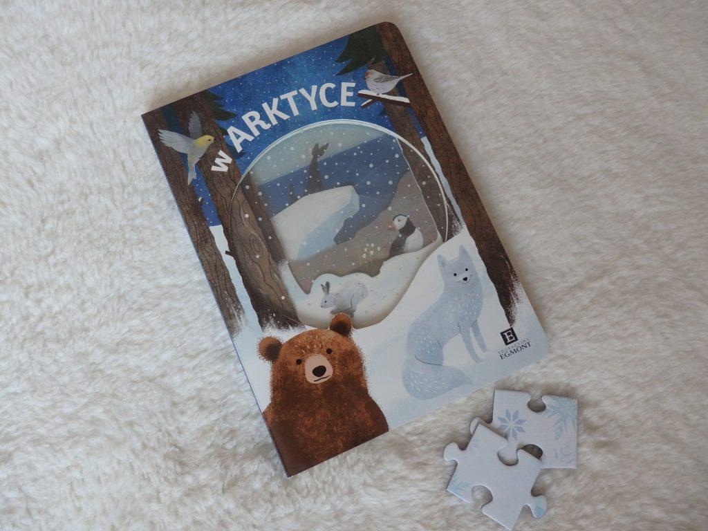 W arktyce kartonówka Egmont