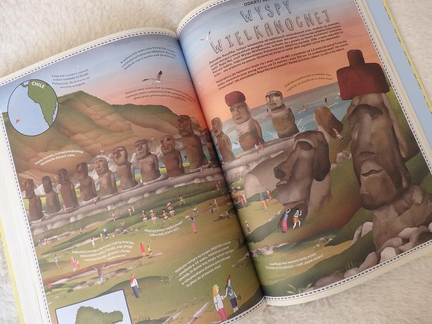 Atlas cudów świata, Ben Handicott, Lucy Letherland, Nasza Księgarnia