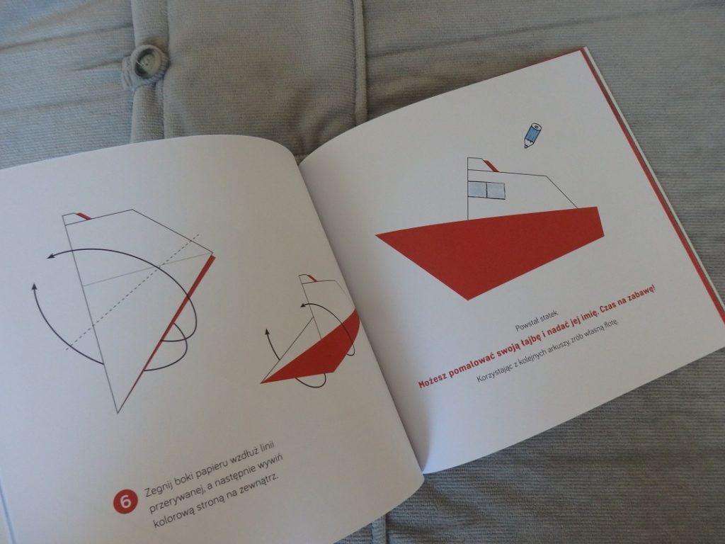 Pierwsze origami statek, Zbigniew Dmitroca, Egmont