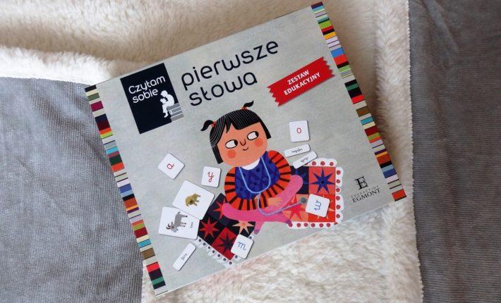 Pierwsze słowa, zestaw edukacyjny, Rafał Witek, Ewa Poklewska-Koziełło, Anna Buchner, Egmont