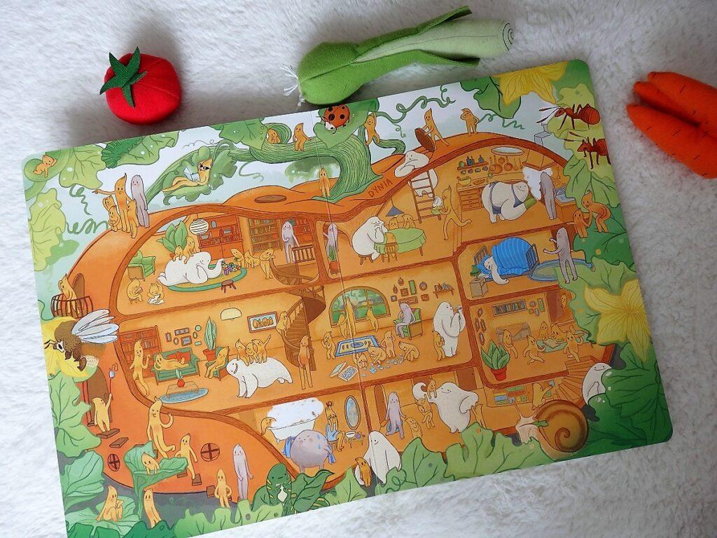 Przekroje: owoce i warzywa, Agnieszka Sowińska, Nasza Księgarnia