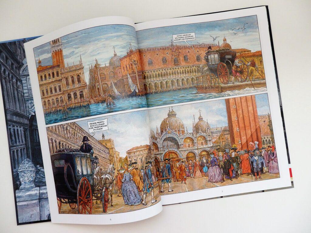 Myszart w Wenecji komiks