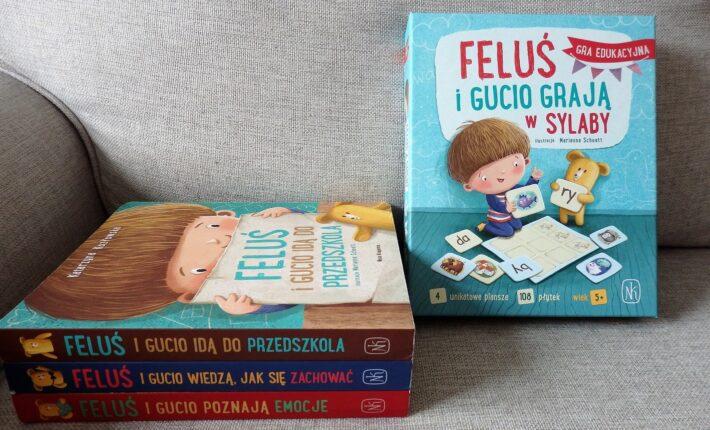 Feluś i Gucio grają w sylaby Nasza Księgarnia