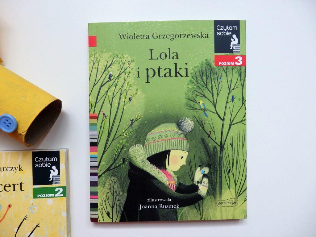 Czytam sobie, Lola i ptaki