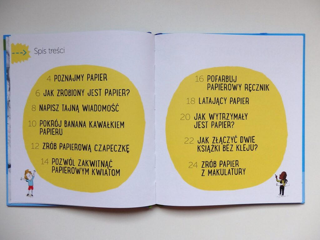 Przygody z nauką: papier, Akademia Mądrego Dziecka