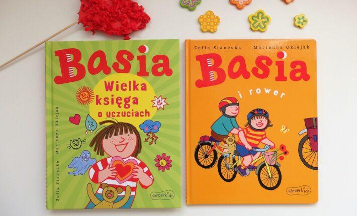Basia. Wielka księga o uczuciach, Basia i rower