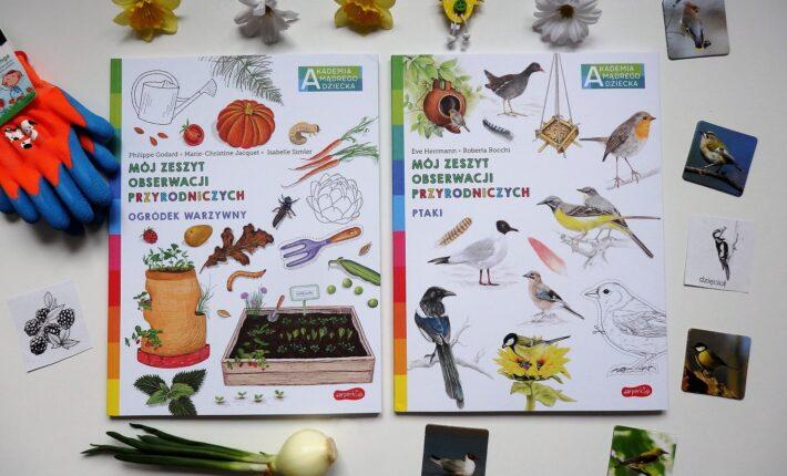 Mój zeszyt obserwacji przyrodniczych. Ogródek warzywny, Ptaki