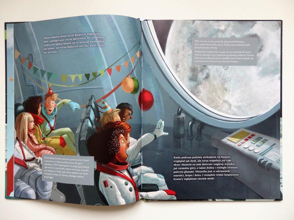Kosmiczne urodziny. Lecimy na księżyc. Akademia Mądrego Dziecka