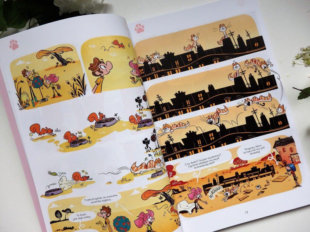 Kasia i jej kot. Tom 3 komiks Egmont