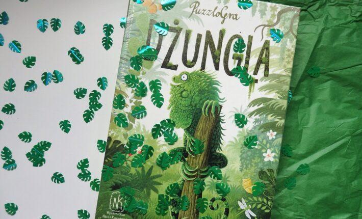 Dżungla, puzzlogra, Marcin Minor, Nasza Księgarnia